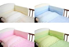 Ochranný límec mantinel (100% bavlna + molitan) 180 x 25 cm duo kostičky
