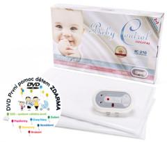 Baby Control Digital monitor dechu BC210 se dvěma podložkami