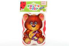 Baby pěnové puzzle medvěd - zajíc