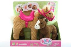 Baby Born Interaktivní kůň s hříbátkem Zapf 822371