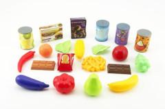 Ovoce a zelenina a potraviny 60ks v plastovém boxu