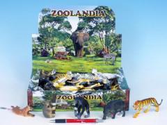 Zvířátka safari 7,5-13cm asst 7 druhů