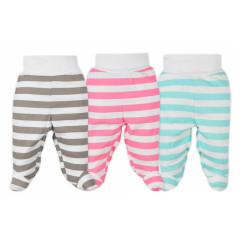 Kojenecké polodupačky Bobas Fashion Perfect Baby, Vel. 56 (0-3 m)