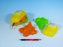 Formičky Bábovky plast 3ks v síťce 15x10cm
