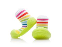 Botičky Attipas Ballet Rainbow Green