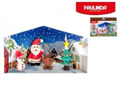 Tvořivá modelína Paulinda Merry Christmas 6x14g s doplňky