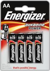 Baterie tužková ENERGIZER ALKALINE POWER AA 4ks
