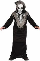 Karnevalový kostým - Kostlivec, Vel. 120 - 130 cm