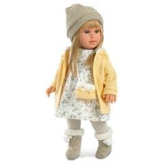 Panenka - Martina ve žlutém svetříku 40 cm