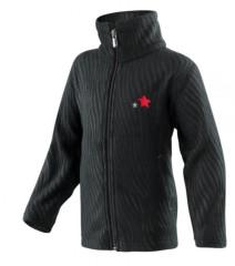 Mikina fleece SPORT černá s výšivkou vel. 86 - 128