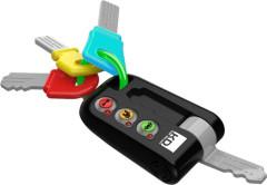 Klíče od auta Kooky