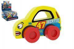 Moje první závodní auto Bertie 47 žluté pěna Millaminis