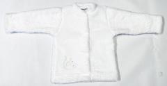 Zimní kabátek wellsoft bílý veverka Baby Service vel. 74