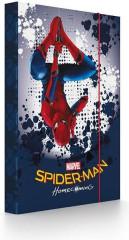 Desky na sešity Heft box A4 Spiderman Homecoming NEW 2017