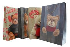 Dárková taška medvědi extra velká 50 x 72 x 18 cm
