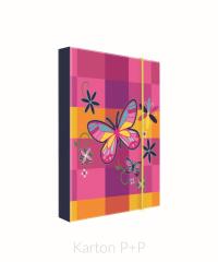 Box na sešity Heftbox A4 Motýl