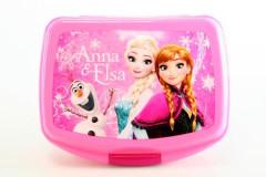 Box na svačinu Frozen růžový