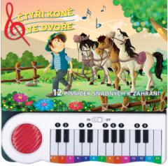 Čtyři koně ve dvoře – 12 písniček snadných k zahrání