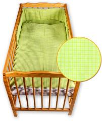 Dětské povlečení 2 dílné Zelená kostka 135 x 100 cm