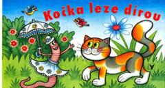 Knížka Leporelo - Kočka leze dírou