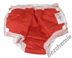 Plenkové plavky červené VEL. S