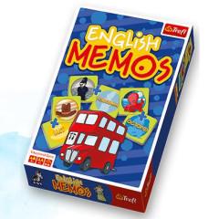Vzdělávací hra English Memos