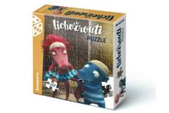 Puzzle Lichožrouti 100 dílků 33x30cm