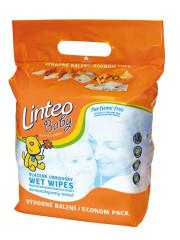 Vlhčené ubrousky Linteo Baby 6x70 ks Parfume Free