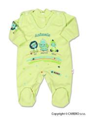 2-dílná souprava New Baby Zvířátka zelená Vel. 74