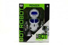 Tancující plastový robot na baterie se světlem a zvukem 23 cm
