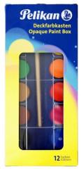 Vodové barvy Pelikan 12 barev