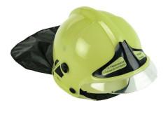 Hasičská helma zelená
