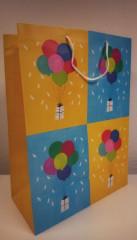 Dárková taška Extra velká Balónky 56 x 40 cm Albi