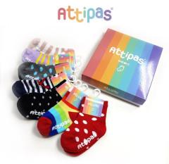Ponožky s protiskluzem Attipas Vel. S-XL (Euro 19,5-22,5 / 96-135 mm)