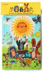 Pěnové puzzle Krtek a sluníčko 24dílků
