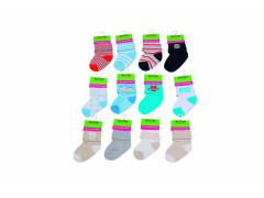 Kojenecké ponožky chlapecké PD501, 0 - 6 měs. Pidilidi