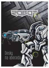 Desky na abecedu Premium Robot