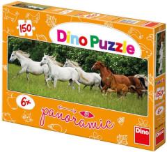 Puzzle Bežící koně 150dílků