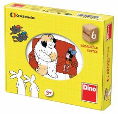 Kostky kubus Pohádky Dino