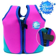 Dětská plavací vesta 1-6 let - růžovomodrá