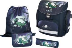 Školní batoh Herlitz Midi dinosaurus vybavený SET