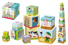 Kostky kubus Na farmě 10ks 12m+