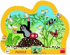 Puzzle Krteček deskové Krtek s hrníčkem 25