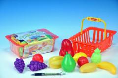 Nákupní košík ovoce/zelenina plast 22cm