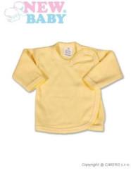Kojenecká košilka New Baby Classic zavinovací vel. 62 ŽLUTÁ