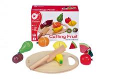 Ovoce krájecí s prkénkem dřevo