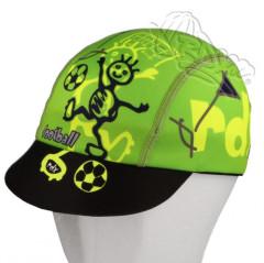 Funkční letní kšiltovka Coolmax RDX s UV filtrem fotbal zelená