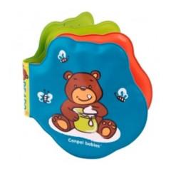 Měkká knížka pískací vybarvovací medvídci