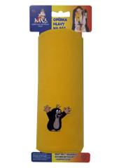 Opěrka na pás Krtek-žlutá