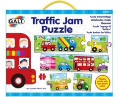 Pěnové puzzle dopravní zácpa